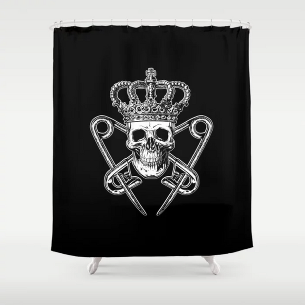 PM Logo Shower Curtain