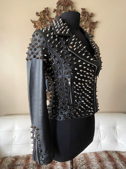 Studded Leather Lambskin R Side