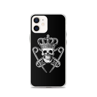 Black iPhone Case with PM Logo