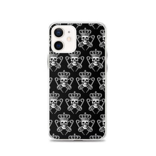 PM Logo Pattern iPhone Case