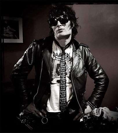 Jake Hout of the Dead Boys, Photo by Michael Alago
