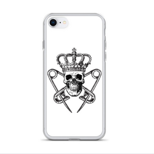 White iPhone Case with PM Logo