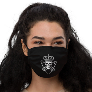 Punk Majesty Logo Fashion Mask