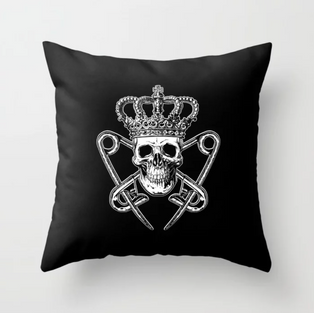 PM Logo Throw Pillow
