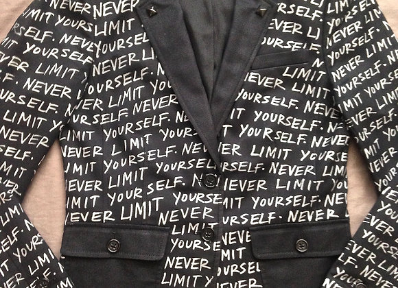 NEVER LIMIT YOURSELF SIZE 6P SOLD