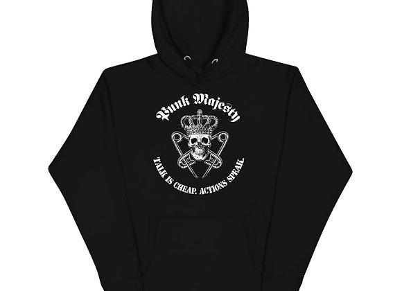 Punk Majesty Cotton Unisex Hoodie