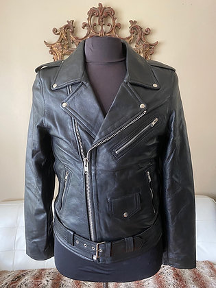 Men's Lightweight Lambskin Motorcycle Jacket