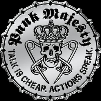 Punk Majesty Logo Pin