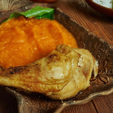 Poulet Cocote & Purée de Patate douce