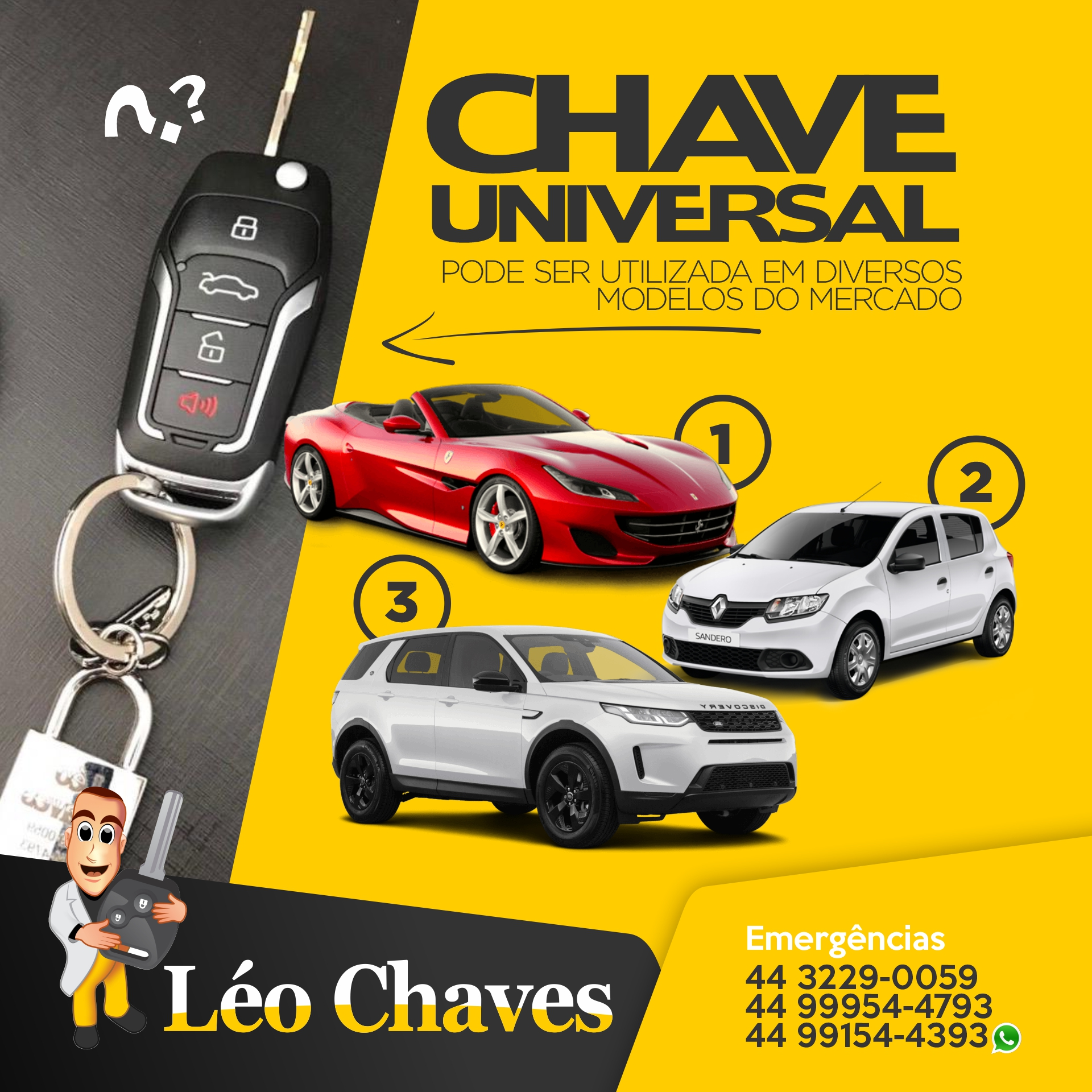 MODELO CHAVE LEO CHAVES 2