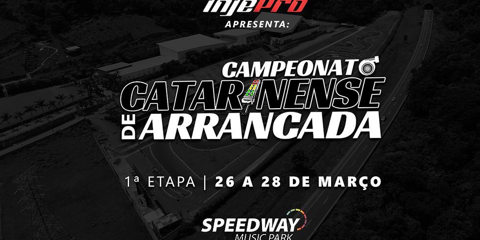 CATARINENSE DE ARRANCADA - 1ª ETAPA