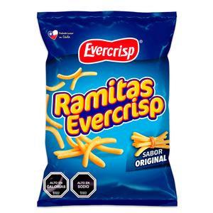 Bag of snacks ramitas evercrisps original flavour 250g