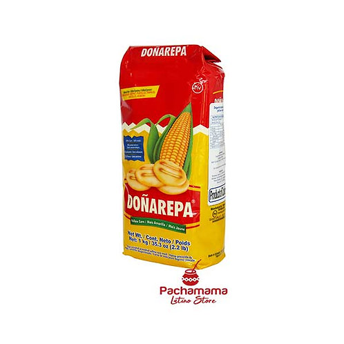 Yellow corn flour Doñarepa amarilla Colombia buy Pachamama latino store New Zealand