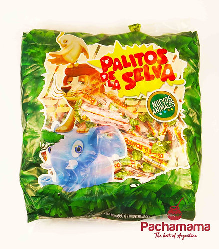 Bag of lollies Palito de la selva argentina buy them in new zealand tienda pachamama latino store