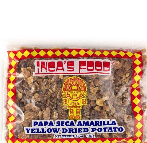 Papa Seca amarilla Inca's food