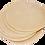 tapas de empanadas sin empaquetar