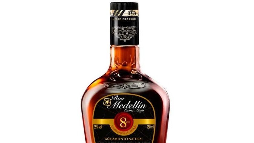 Rum (ron) Medellin aged 8 years