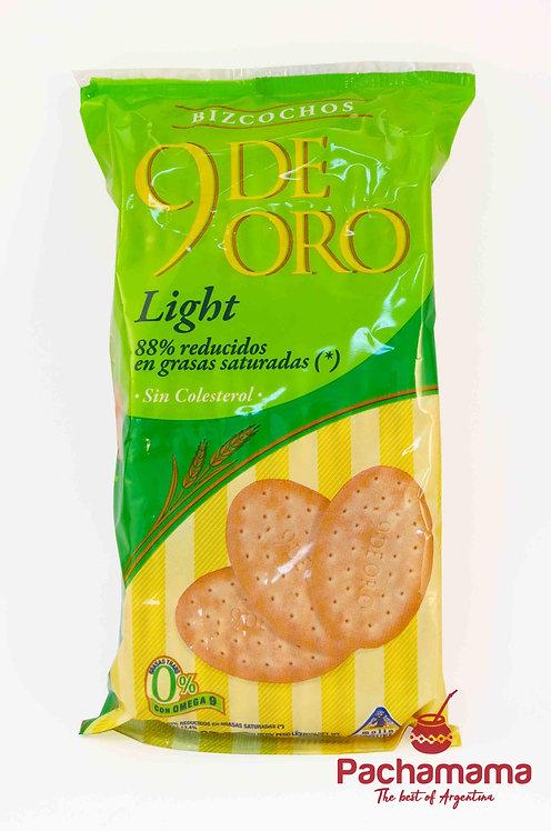 9 de Oro Light cookies