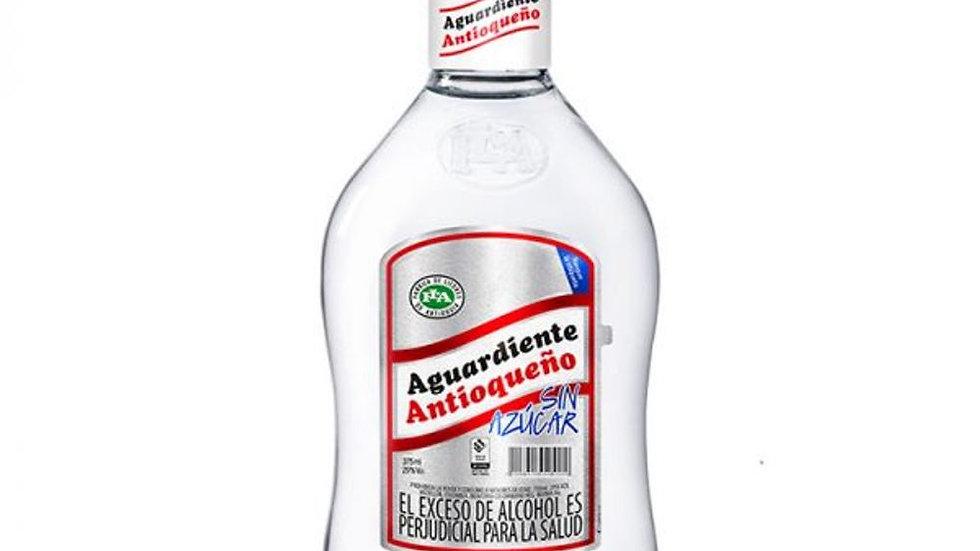 aguardiente colombiano antioqueño bottle 0.75L