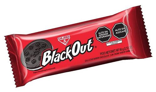 Galleta Blackout con vainilla