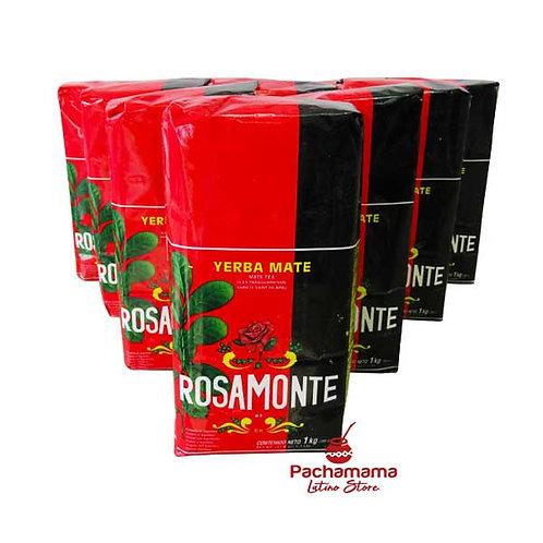 Yerba mate Rosamonte x10
