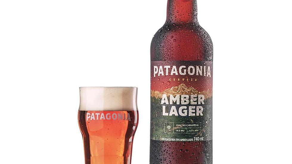 Cerveza (beer) Patagonia Amber Lager 730 ml
