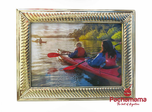 Photo silver frame (large)