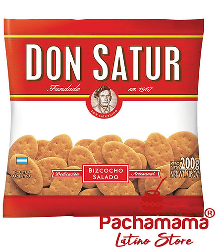 Don Satur salty cracker