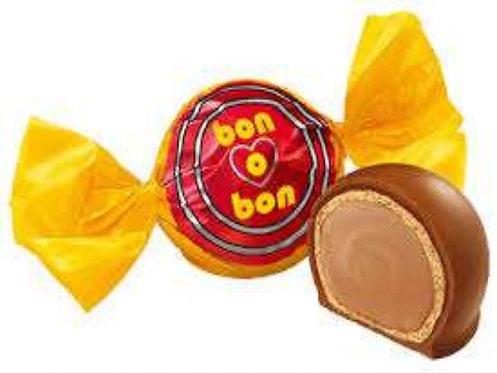 Bonobon unit bombon filled with nougat and covered in milk chocolate Pachamama latino store tienda latina