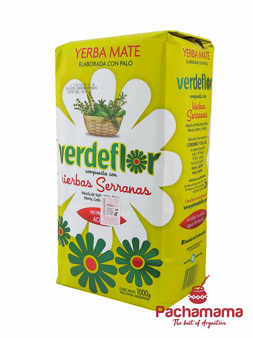 Yerba Mate Verdeflor Hierbas Serranas 1 Kg