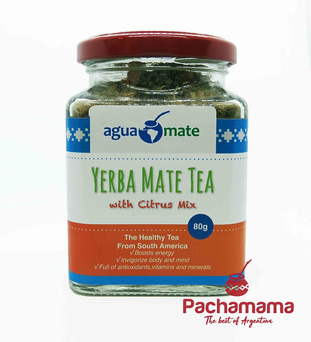 Premium Yerba Mate tea with Citrus Mix