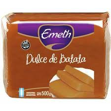 Pouch 500g sweet potato paste dulce de batata Emeth from argentina buy in tienda pachamama latino store new zealand