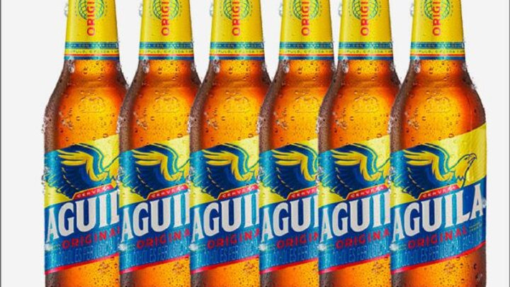 Cerveza (beer) Aguila x 6 units