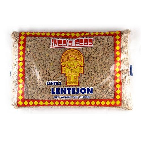 Lentejon  Inca's Food - Lentils 1.36Kg