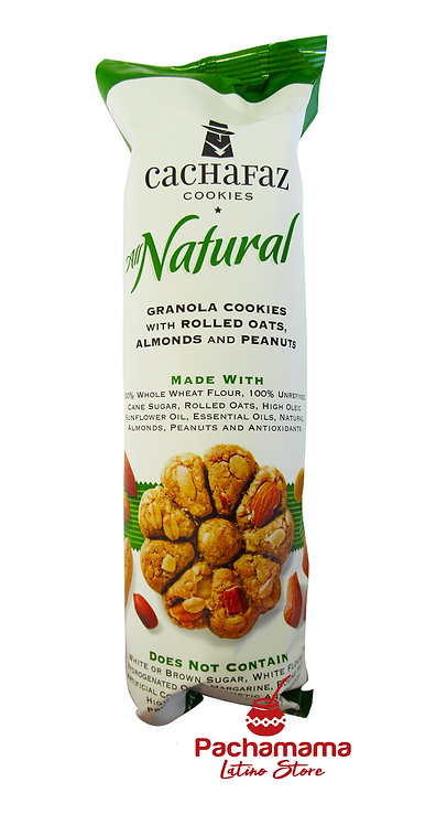 Cachafaz granola cookies with almonds