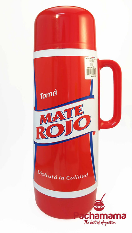 Thermo with pourer for mate