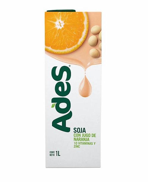 Orange soy milk juice ADES jugo de soja ADES Pachamama Latinostore latinofoods New Zealand