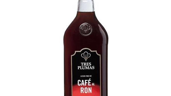 Rum coffee Tres Plumas