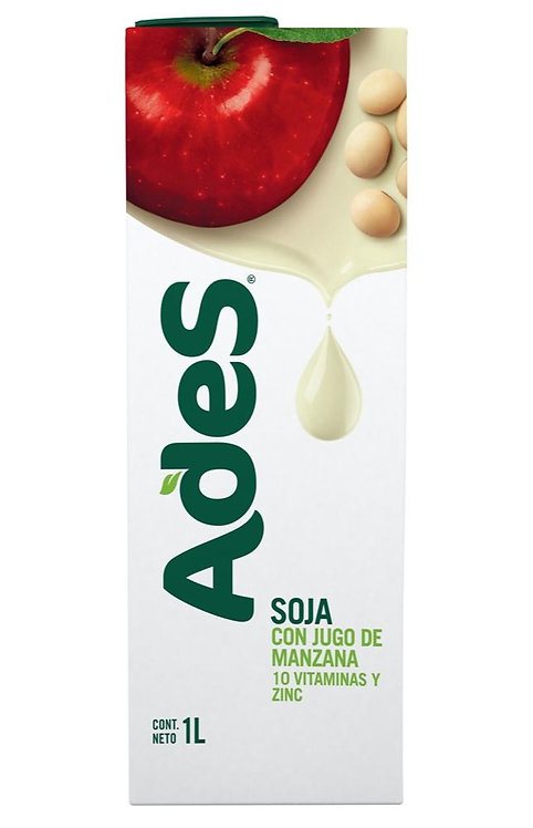 Soy juice apple flavour ADES 1 L, jugo de soja con sabor a manzana ADES latinofoods latinostore pachamama new zealand