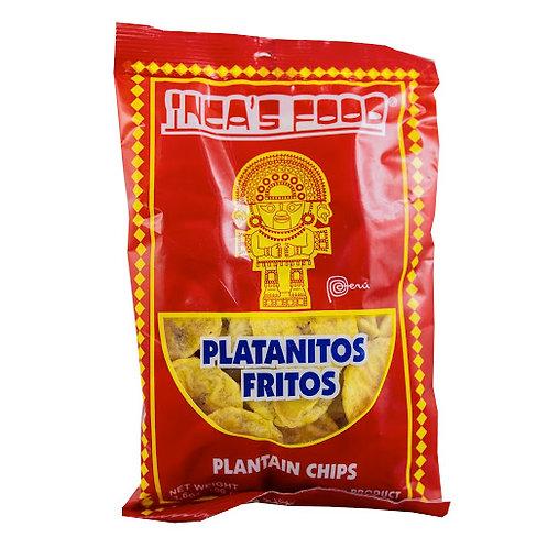 Platanitos fritos - plantain snacks