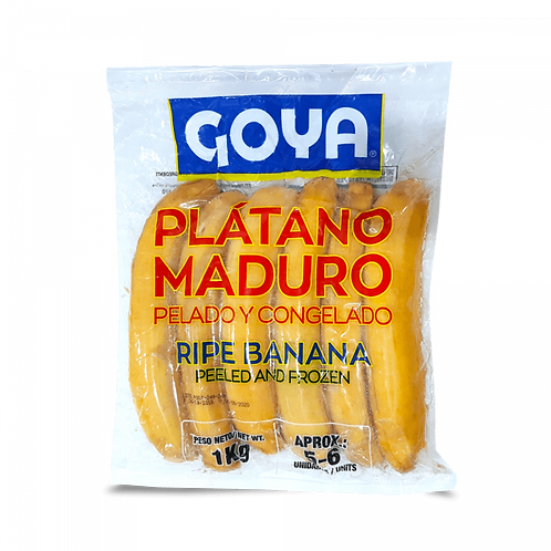 Ripe Plantain Goya 1000g