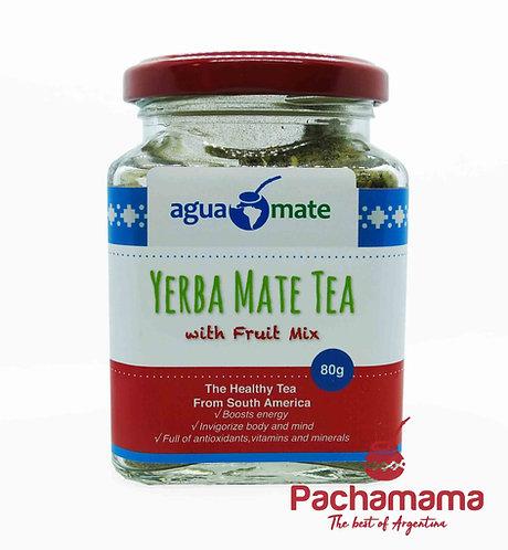 Premium Yerba Mate tea with Fruit Mix