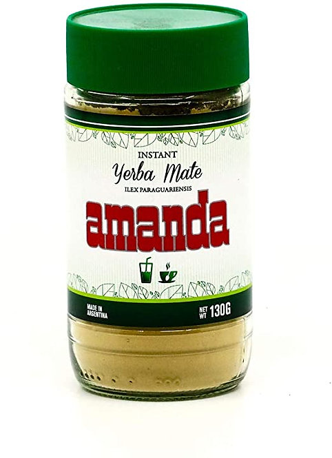 Amanda Instant yerba mate powder