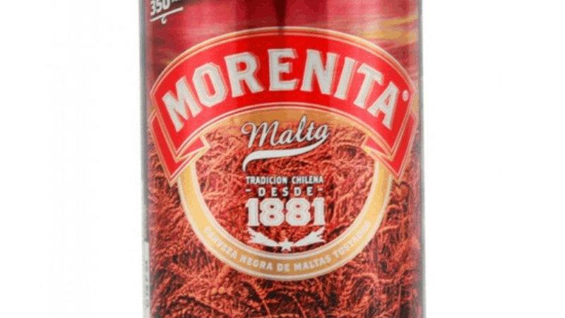 tin of morenita malt beer cerveza morenita
