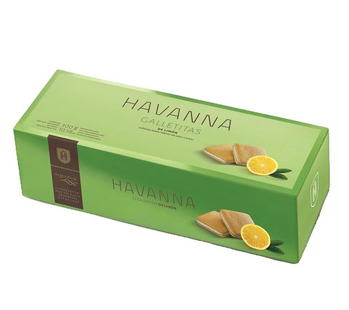 Havanna lemon cookies, galletas de limon Havanna