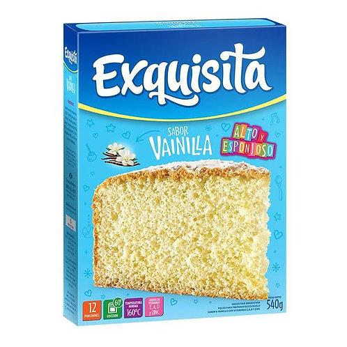 Exquisita mix to prepare vainlla cake bizcochuelo de vainilla buy now tienda p