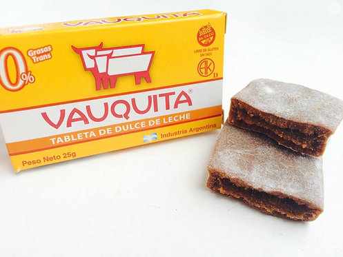 Vauquita tableta de dulce de leche milk caramel slab arequipe manjar blanco buy now pachamama new zealand