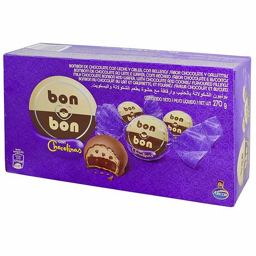Box of bonbons bon o bon filled with chocolinas chocolate waflers buy now tienda pachamama latino store new zealand
