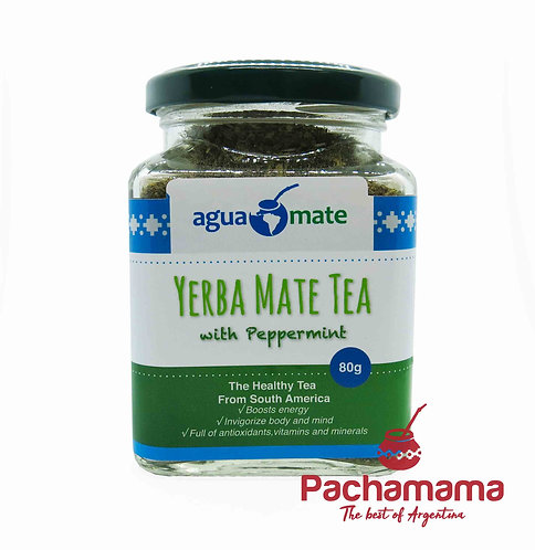 Premium Yerba Mate tea with Peppermint