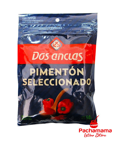 Pimenton dulce (bell pepper) sweet pepper grounded from Argentina to cook available Tienda Pachamama New Zealand